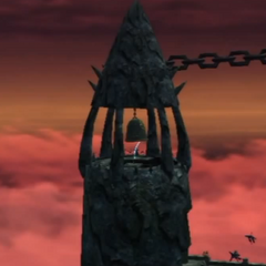 The Dragon Summon at the top of Basverg Belfry