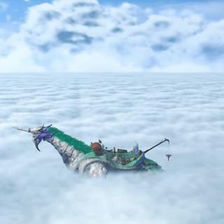 Azurda in the Cloud Sea