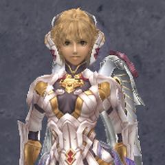 Fiora in Ether V Armor