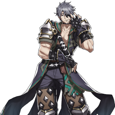 Official art of Zeke
