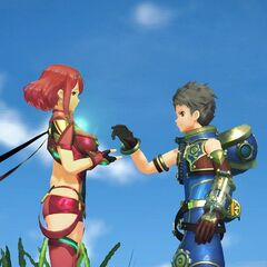 Rex and Pyra