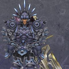 Reyn in Heavy Titan Armor