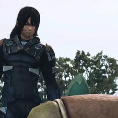 Lao talking to Tatsu