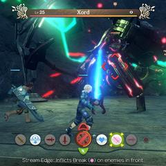 Xord battle encounter in <i>Definitive Edition</i>