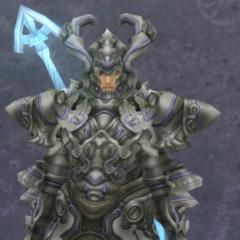 Shulk in Heavy Titan Armor