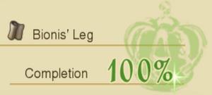 Bionis leg collec