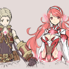 Prototype designs for Pyra and Rex