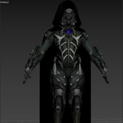 Black Knight's in-game model