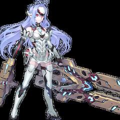 KOS-MOS, a Rare Blade