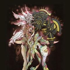 Concept art of Zanza's final form