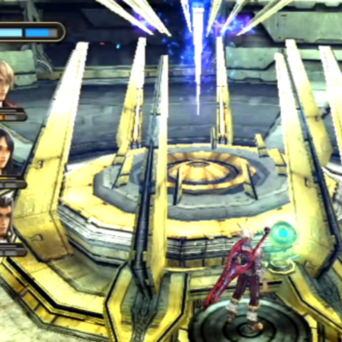 The Weapon Creation Panel activation during <i>Find a Path to the Top</i>