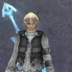 Shulk in Light Rondine Armor