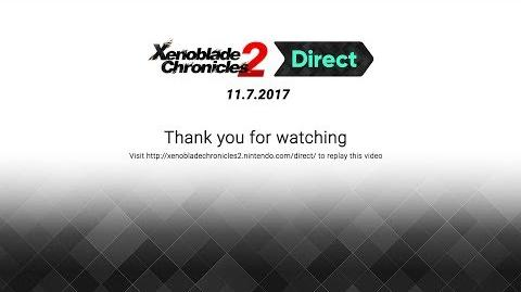 Xenoblade Chronicles 2 Direct 11.7.2017