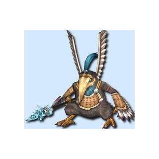A Javelin Tirkin in <i>Xenoblade Chronicles</i>