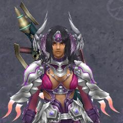 Sharla in Medium Rafaga Armor