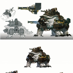 Concept art of Archelon Titans