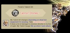Cannon Drones I
