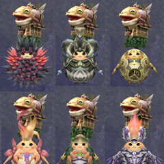 Compilation of Riki's armour