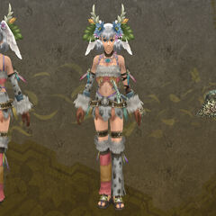 Melia in Hierax outfit