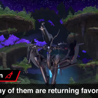 Gaur Plain and Metal Face as seen in the August 8 <i>Super Smash Bros. Ultimate</i> Direct.
