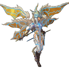 Obrona, as a recruitable new Rare Blade