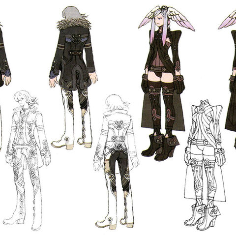 Concept art of Alvis and Tyrea