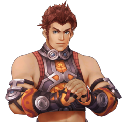 Official art of Reyn in <i>Definitive Edition</i>