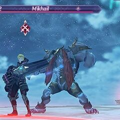 Cressidus with Mikhail during Challenge Battle Mode