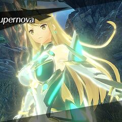 Mythra using her level 3 special