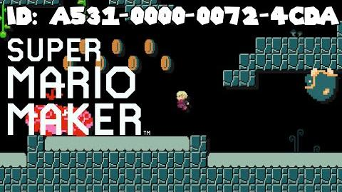 Super Mario Maker – Xenoblade Adventure