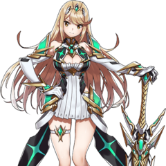The second sword of the Aegis used by Mythra