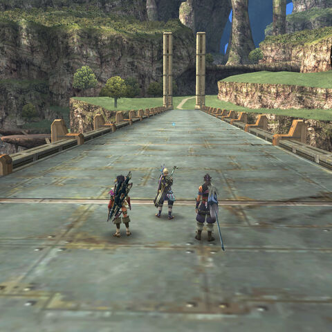 The party on the Raguel Bridge