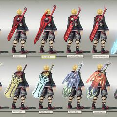 All of Shulk's Monados