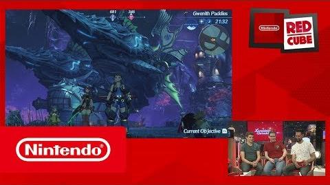 Xenoblade Chronicles 2 gameplay - gamescom 2017 (Nintendo Switch)