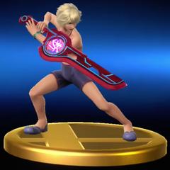 Shulk's Wii U Trophy (Alt)