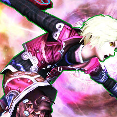 Shulk on the 3DS version of Final Destination.