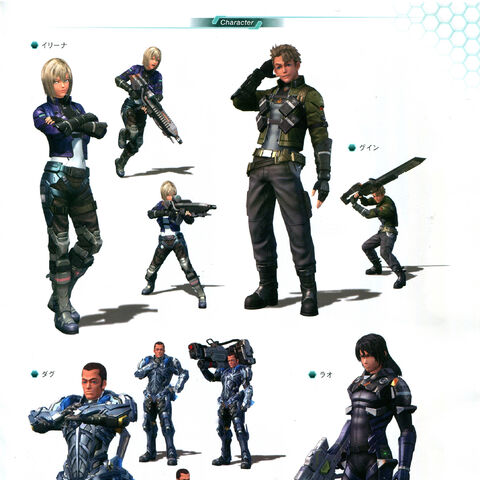 Humans in <i>Xenoblade Chronicles X</i>