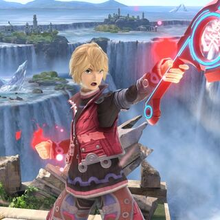 Shulk as he appears in <i>Super Smash Bros. Ultimate</i>