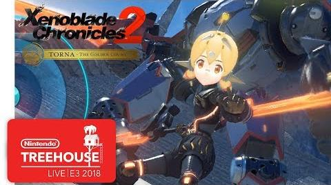 Xenoblade Chronocles 2 Challenge Battle Mode Gameplay - Nintendo Treehouse Live E3 2018