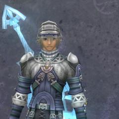 Shulk in Medium Glory Armor