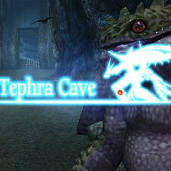 Tephra Cave Location in the original version