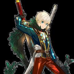Corvin, a DLC Rare Blade