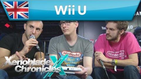 Xenoblade Chronicles X - Live Demonstration at EGX 2015 (Wii U)