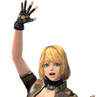 Mia in <i>Xenoblade Chronicles X</i>