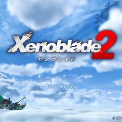Title screen of the Japanese version