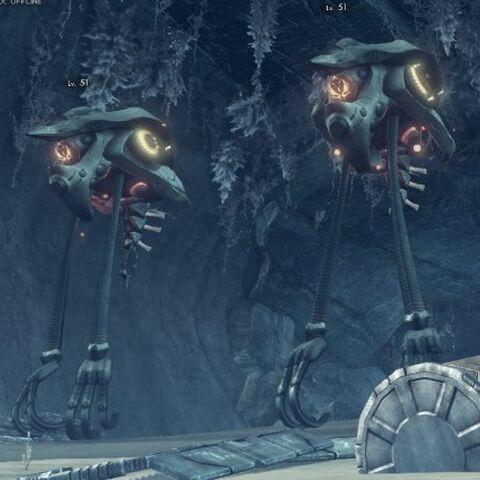 A pair of Titanium Oc-servs outside a cave