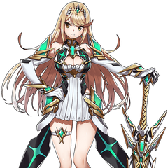 Mythra's original form