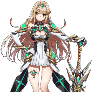 Mythra's artwork in TGC