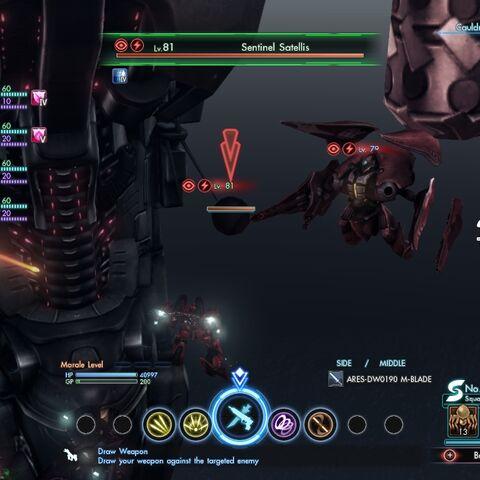 Sentinel Satellis summoned by Leva'el, the Terminus