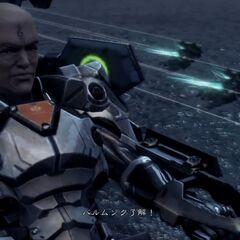 Bozé piloting a <a href=